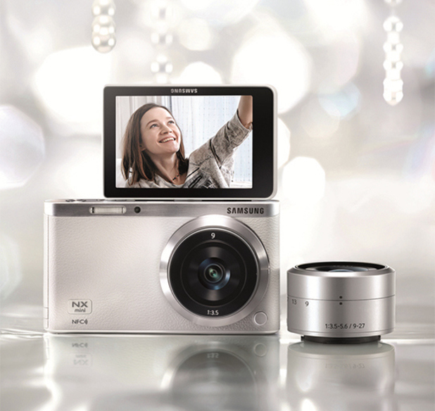 Samsung's NX mini SMART interchangeable-lens camera