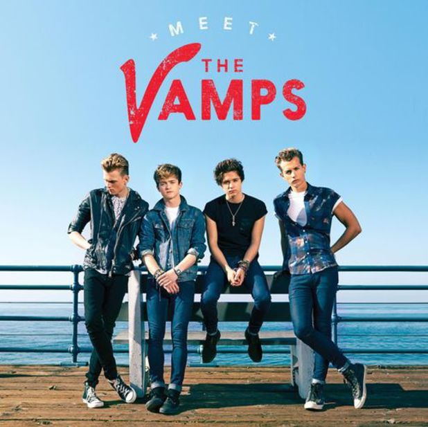 The Vamps debut album artwork