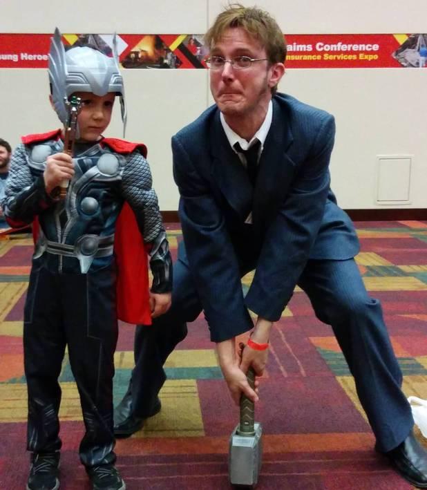 Kid at Comic-Con