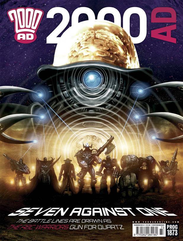 2000 AD Prog 1873 cover