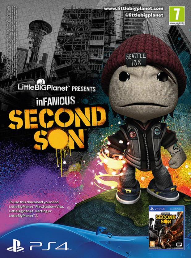 LittleBigPlanet Infamous: Second Son costume