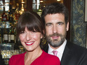 Davina McCall and Matthew Robertson read new vows written by their children.