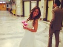 "Renee Oteri shares pictures from her ""courthouse wedding"" on social media."