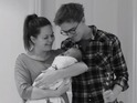 "Giovanna Fletcher reveals that their son Buzz ""wanted to be part of the fun""."