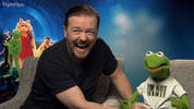 Ricky Gervais, Constantine talk Muppets Most Wanted
