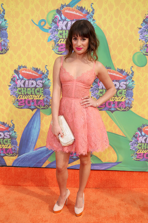 Lea Michele at the Nickelodeon Kids Choice Awards 2014