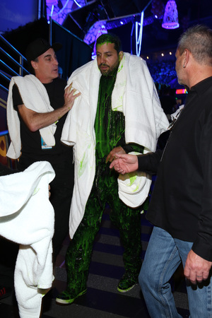 David Blaine at the Nickelodeon Kids Choice Awards 2014