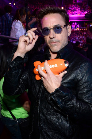 Robert Downey Jr at the Nickelodeon Kids Choice Awards 2014