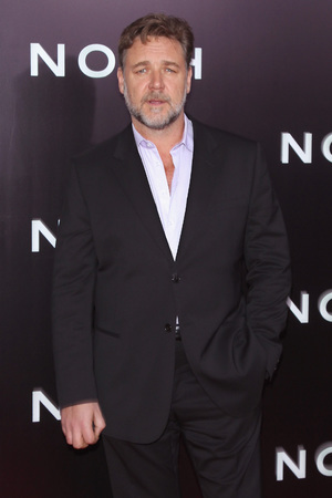 NEW YORK, NY - MARCH 26: Russell Crowe attend the 'Noah' New York Premiere at Ziegfeld Theatre on March 26, 2014 in New York City. (Photo by Jim Spellman/WireImage)