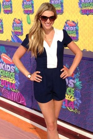 Anna Williamson at the Kids Choice Awards