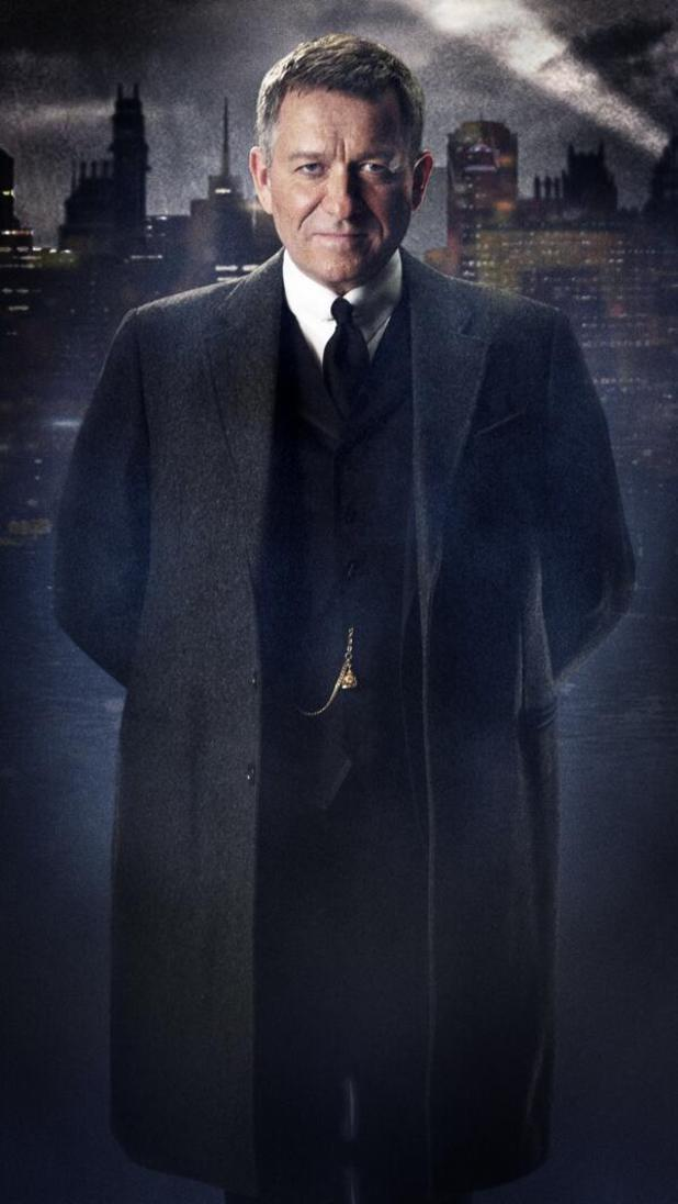 Sean Pertwee as Alfred Pennyworth in Batman prequel Gotham