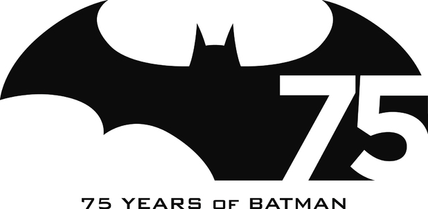 Batman 75 logo