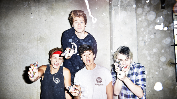 5 Seconds Of Summer press shot.