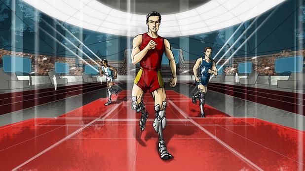 The Powered Leg Prosthetics Race at Cybathlon