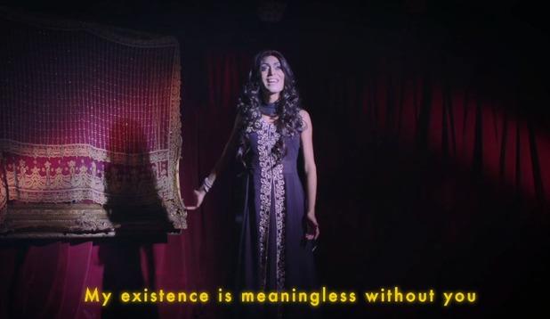 Asifa Lahore's Tum Hi Ho video still