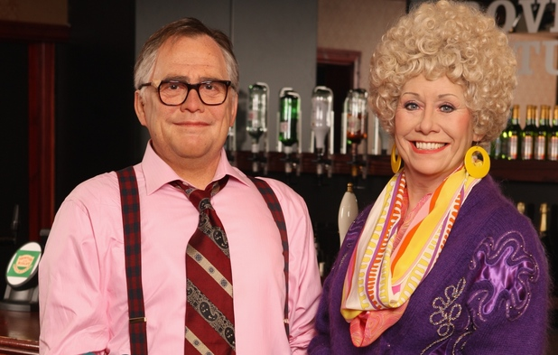 Jack and Vera Duckworth figures at Madame Tussauds