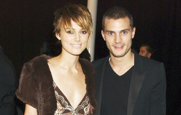 Keira Knightley and Jamie Dornan at the Moet & Chandon Fashion Tribute awards