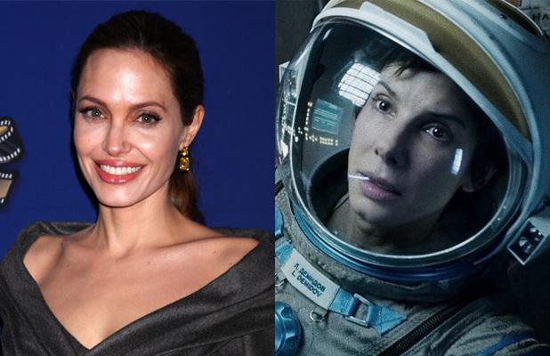 Angelina Jolie - Gravity (Sandra Bullock)