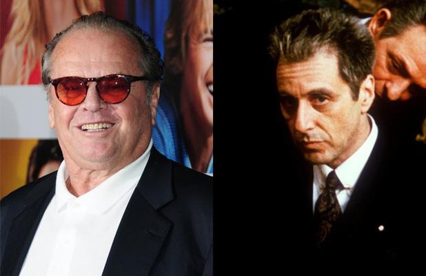 Jack Nicholson - The Godfather (Al Pacino)