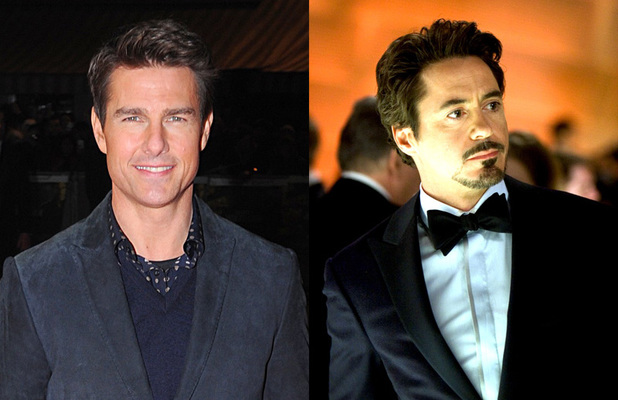 Tom Cruise - Iron Man (Robert Downey Jr)