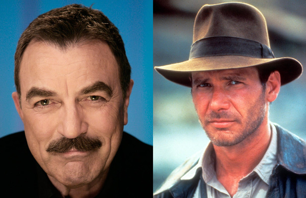 Tom Selleck - Indiana Jones (Harrison Ford)
