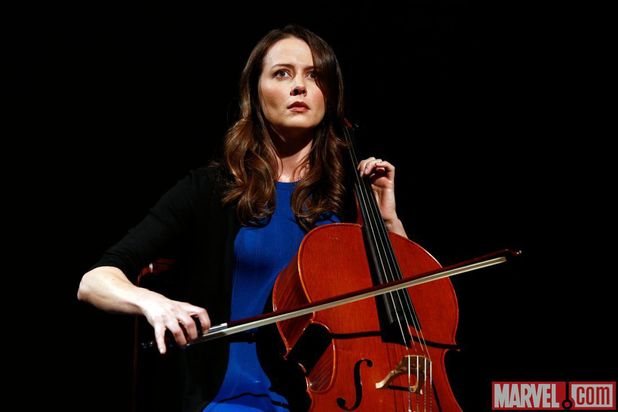 Amy Acker in Marvel's Agents of SHIELD