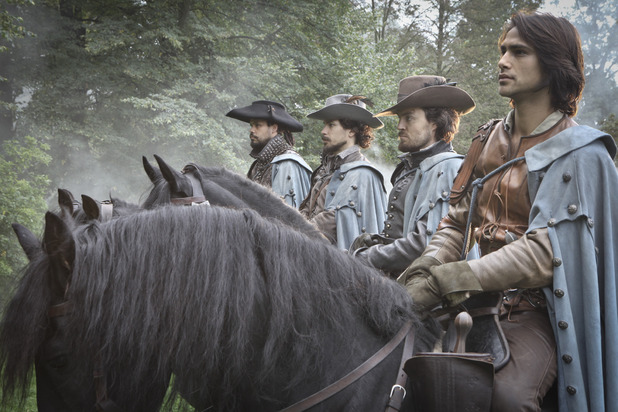 The Musketeers episode 10 'Musketeers Don't Die Easily'