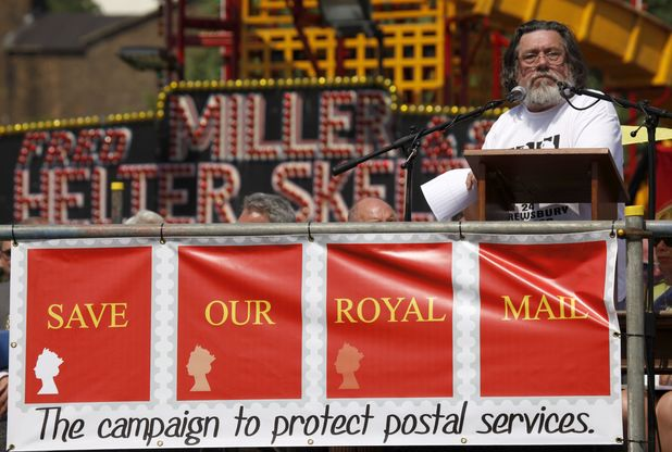 Ricky Tomlinson speaks at the 129th Durham Miners Gala, July 2013