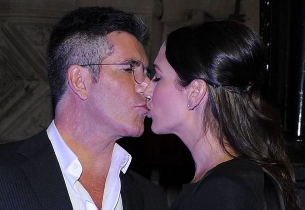 'I Can't Sing' musical press night after party, London, Britain - 26 Mar 2014 Simon Cowell and Lauren Silverman 26 Mar 2014