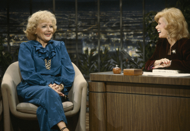 Joan Rivers with Betty White on The Tonight Show (1983)