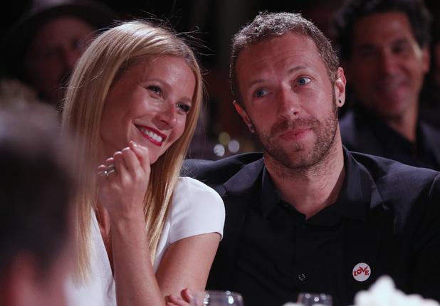 Gwyneth Paltrow and Chris Martin are seen at the 3rd Annual Sean Penn & Friends HELP HAITI HOME Gala