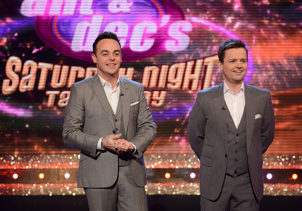 ANT & DECS SATURDAY NIGHT TAKEAWAY ON SATURDAY 29TH MARCH 2014Ant & Dec's Saturday Night Takeaway.Picture Shows: Ant & DecAward winning hosts Ant & Dec are back with their hugely popular entertainment series Ant & Dec's Saturday Night Takeaway.