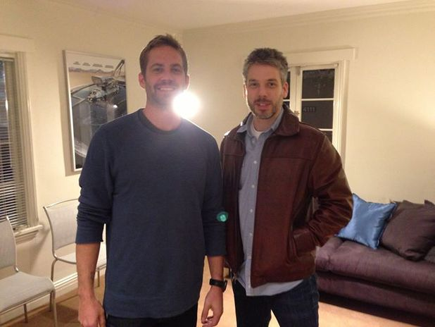 Paul Walker with Vin Diesel's brother Paul