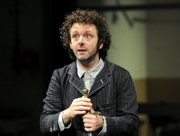 'Hamlet' play performed at The Young Vic Theatre, London, Britain - 08 Nov 2011 Michael Sheen as Hamlet 8 Nov 2011