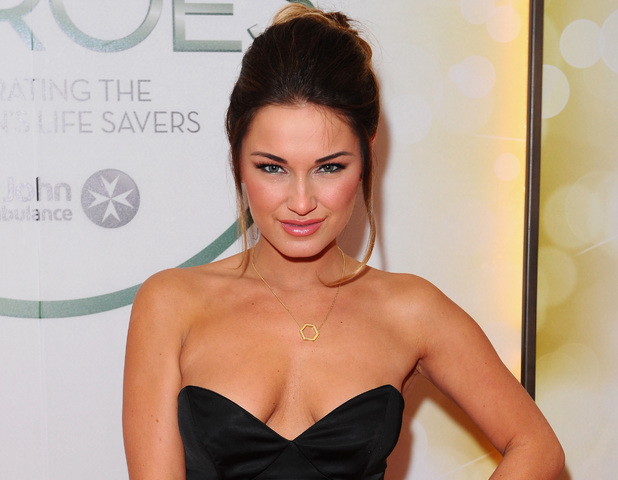 Sam Faiers attends the star-studded St John Ambulance Everyday Heroes celebration