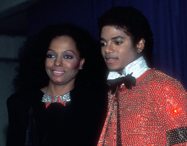 Diana Ross & Michael Jackson (Photo by Barry King/WireImage) 1981 American Music Awards