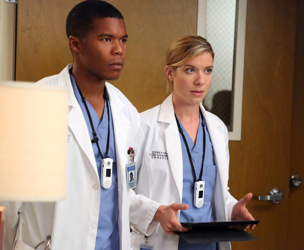 Grey's Anatomy's Shane Ross and Leah Murphy