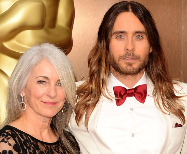 HOLLYWOOD, CA - MARCH 02: (L-R) Constance Leto and Jared Leto attend the Oscars held at Hollywood & Highland Center on March 2, 2014 in Hollywood, California. (Photo by Jason Merritt/Getty Images)