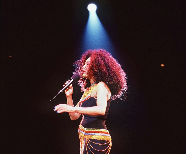 Diana Ross in concert 'In the Round' at the Birmingham NEC Arena