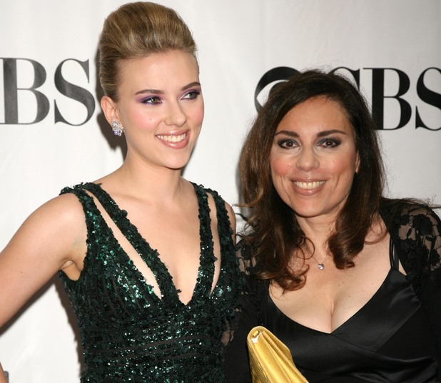 64th Annual Tony Awards, New York, America - 13 Jun 2010 Scarlett Johansson and her mother Melanie Sloan 13 Jun 2010
