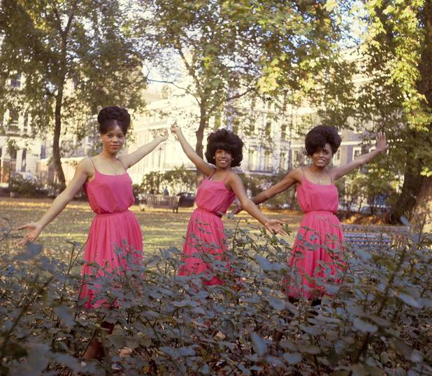 UNITED KINGDOM - JANUARY 01: Photo of SUPREMES and Diana ROSS and Florence BALLARD and Mary WILSON; Posed group portrait L-R Florence Ballard, Mary Wilson and Diana Ross (Photo by RB/Redferns)