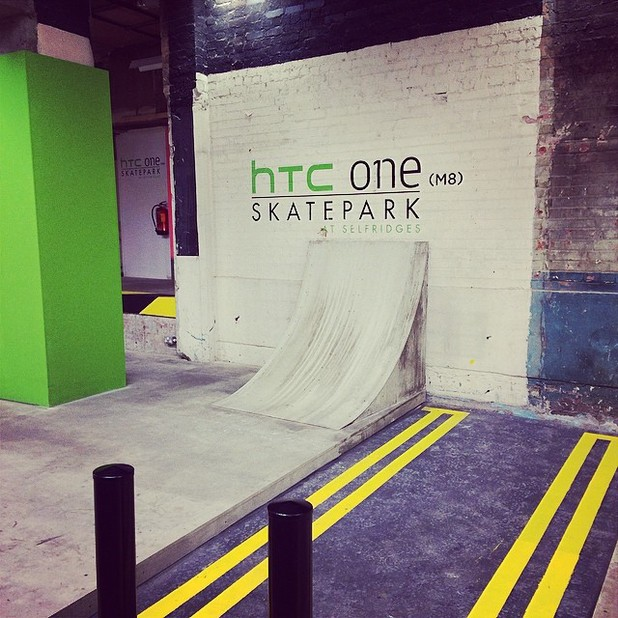 HTC One (M8) skatepark