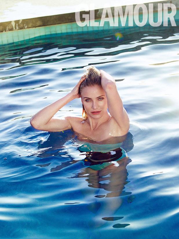 Cameron Diaz in Glamour magazine