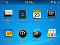 Leaked screenshots of BlackBerry's next OS update hint at its new features.