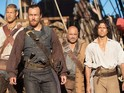 Black Sails returns for a second season next January.