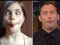 Jude Law and Jimmy Fallon do their best impressions of kids making odd faces.