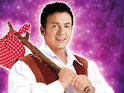 The actor will play Dick Whittington in Buckinghamshire this Christmas.