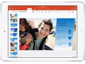 A month after Word, Excel and PowerPoint land on iPad, Microsoft releases its first update.