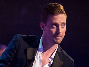 Ricky Wilson during The Voice series 3 final