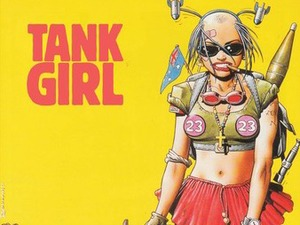 Tank Girl Kickstarter stretch goals